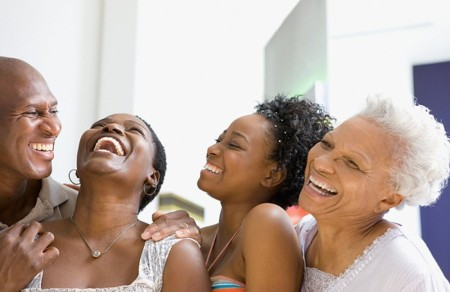 african-american-familaughing